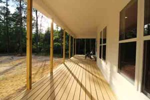 outdoor living spaces, Making New Home Construction Less Stressful