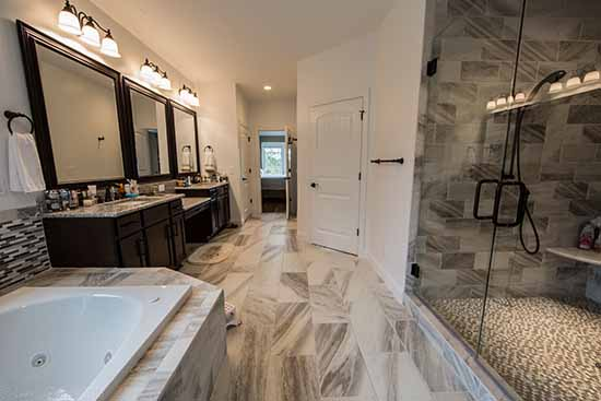 Designing Your Custom Bathroom | AW Homes | Custom Home Builders