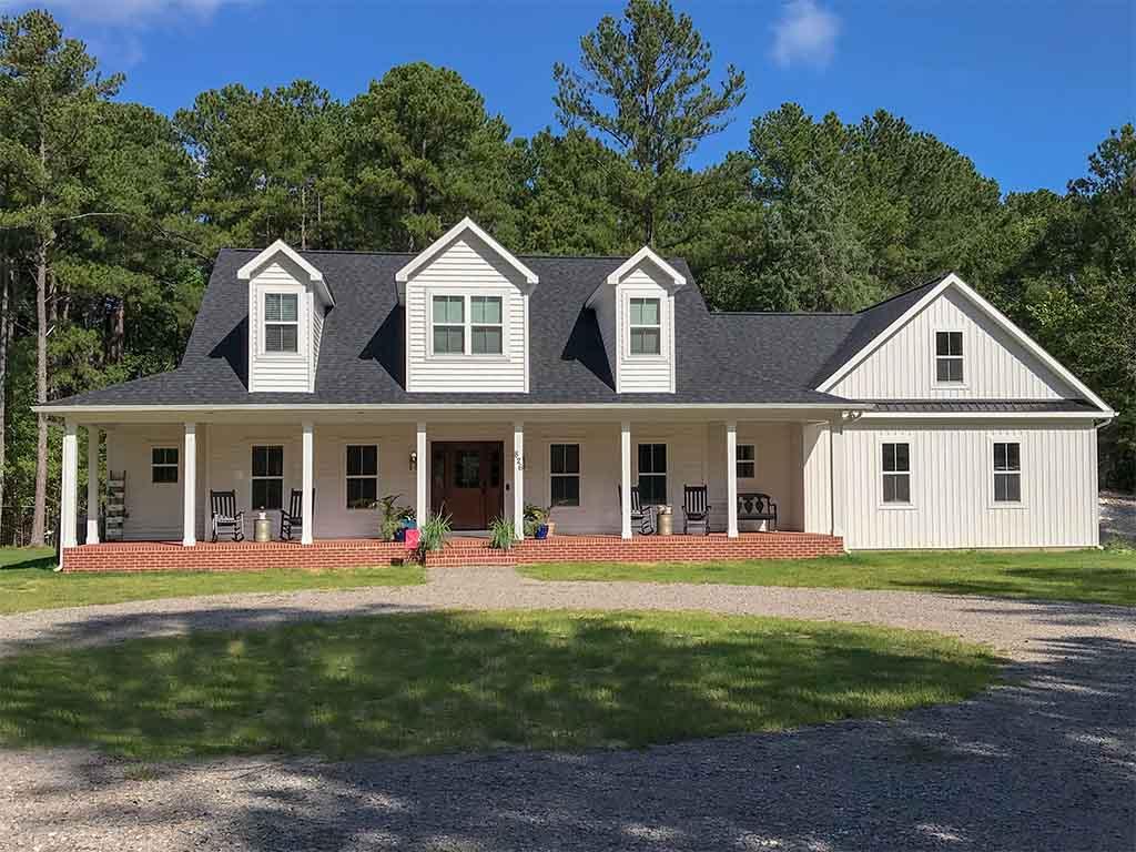 Custom Home Farm House Style V Nc