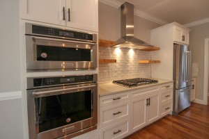 Double-Oven-Kitchen-Open-Shelving