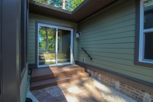 Porch and separate entry for home addition