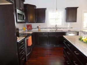 open-kitchen-dark-cabinets
